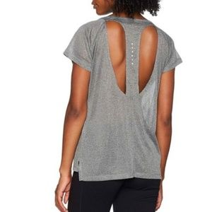 Nike Breathe Open Back Mesh Dri Fit Top